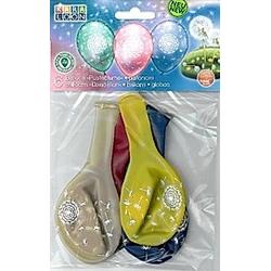 "Karaloon 6 Kristallballons ""Pusteblume"""" / Crsytal Balloons """" Dandelion"""""""