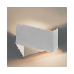 Design Wandleuchte weiß - Fold