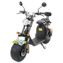 eFlux Harley Two Elektro Scooter mit Straßenzulassung 1500 Watt 60 Volt gelb