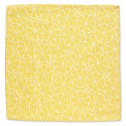 Serviette Citrus 100%Baumwolle gelb 40,0x40,0cm