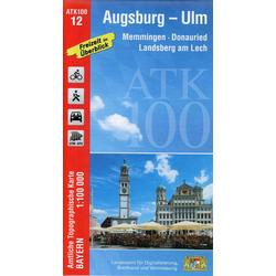 Augsburg - Ulm 1 : 100 000