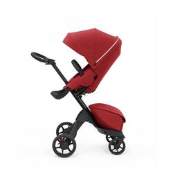 Stokke Sport-Kinderwagen Xplory® X - Multifunktions-Kinderwagen mit schützenden, ergonomischen Sitz rot