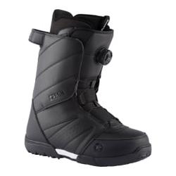 Rossignol - Crank Boa H3 Black 2 - Herren Snowboard Boots - Größe: 8,5 US