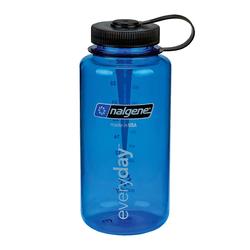 Nalgene Everyday Weithals Trinkflasche 1 Liter blau