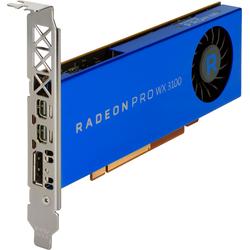 HP Grafikkarte AMD Radeon Pro WX 3100 4GB (4GB), Grafikkarte