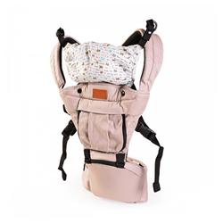 Moni Babytrage Babytrage Skyline, für Ihr Kind von 6 Monaten bis 3 Jahre, ergonomischer Sitz natur