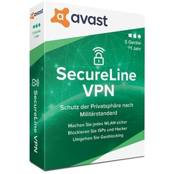Avast SecureLine VPN, 5 apparaten