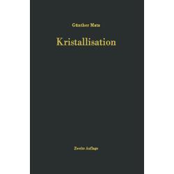 Kristallisation als Buch von G. Matz