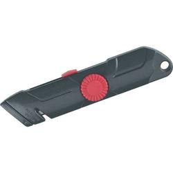 Cutter Ecobra 158x38mm schwarz/rot