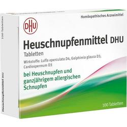 Heuschnupfenmittel DHU