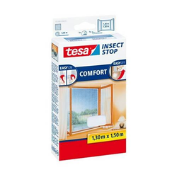 Fliegengitter tesa Insect Stop für Fenster 1,30x1,50m weiß