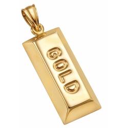 Firetti Kettenanhänger Goldbarren
