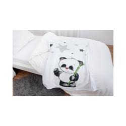 Kinderdecke Kuscheldecke Panda Fynn, 75 x 100 cm, Herding