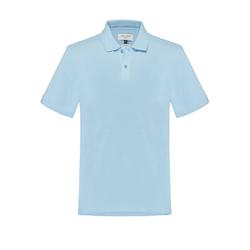Polohemd aus Baumwolle Carl Gross Hellblau