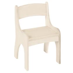 BioKinder - Das gesunde Kinderzimmer Stuhl Levin, für Kinder, Sitzhöhe 30 cm weiß