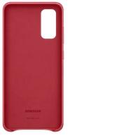Samsung Leather Cover EF-VG980 für Galaxy S20 red