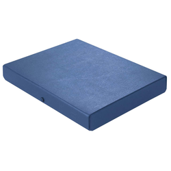 ELBA Dokumentenmappe 4cm blau