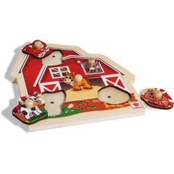 Eichhorn Steckpuzzle bunt Kinder Ab 2 Jahren Altersempfehlung Puzzles