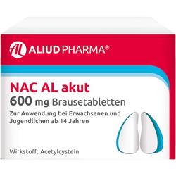 NAC AL akut 600 mg Brausetabletten 20 St.