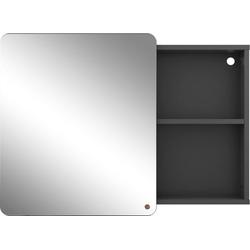 TOM TAILOR Spiegelschrank COLOR BATH mit Spiegel-Schiebetür, Breite 80 cm grau