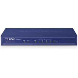 TP-Link Gigabit-Breitband-Router (TL-R600VPN V2.0) [SafeStream-Router, 4x Gigabit-LAN-Ports, IPsec- und PPTP, VPN]