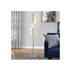 lux.pro Stehlampe, Stylische Stehleuchte Charleroi - 6-flammig