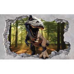 Consalnet Fototapete Dinosaurier, glatt, Motiv 1,04 m x 0,70 m