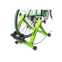 relaxdays Rollentrainer Fahrrad Rollentrainer mit 6 Gängen