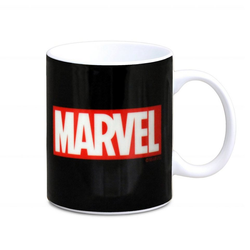 LOGOSHIRT Kaffeebecher mit coolem Print Marvel bunt