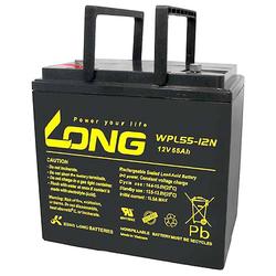 Kung Long WPL55-12N-M Blei Akku 12 Volt 55Ah mit M6 Schraubanschluss