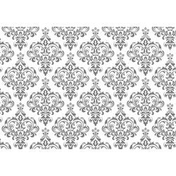 Möbelfolie Barock Grau, 100/100 cm