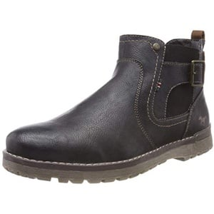 MUSTANG Herren Chelsea Boots, Blau (Navy/Kastanie 859), 42 EU