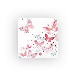 VBS Papierserviette Schöne Schmetterlinge, (20 St), 33 cm x 33 cm