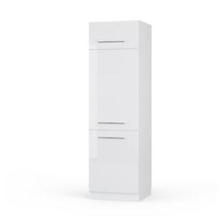 Vicco Backofen/Kühlumbauschrank Kühlumbauschrank 60 cm Weiß Küchenzeile Unterschrank Fame