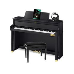 Casio GP-400 Hybrid Digitalpiano schwarz matt SET inkl. Bank, Kopfhörer und Noten