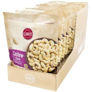 Clarkys Cashewkerne 200 g, 10er Pack