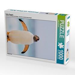 Hallo Pinguin Lege-Größe 48 x 64 cm Foto-Puzzle Bild von Heike Odermatt Puzzle
