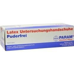 HANDSCHUHE Einmal Latex puderfrei M 100 St