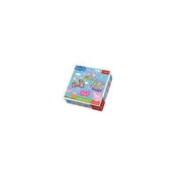 Trefl Puzzle 3in1 Puzzle 20/36/50 Teile - Peppa Pig, Puzzleteile
