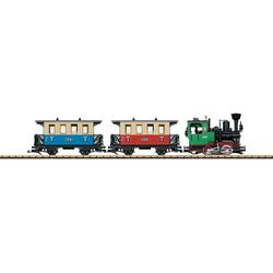 LGB Modelleisenbahn-Set LGB- Personenzug - L70307, für Einsteiger, Made in Europe bunt Kinder Modelleisenbahn-Sets Modelleisenbahnen Autos, Eisenbahn Modellbau