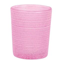 Teelichtglas Frost, Pink