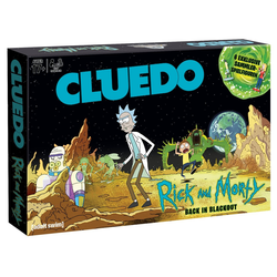 Winning Moves Spiel, Brettspiel Cluedo Rick and Morty