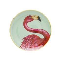 KARE Dekoschale Deko Teller Flamingo 27cm