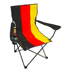 Deutschland Campingstuhl Klappstuhl Faltstuhl Angelstuhl mit Tasche