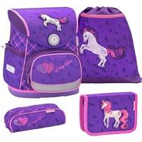 Belmil Compact 4-tlg. horse purple