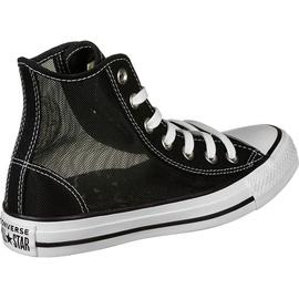 Converse Chuck Taylor All Star See Thru High black white