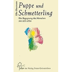 Puppe und Schmetterling