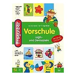 Fragenbär  Vorschule - Logik- und Denkspiele - Buch