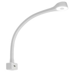 Fawo LED-Schwanenhalsleuchte Typ F weiß