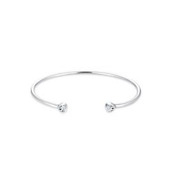 Elli Armreif Armreif Trend Swarovski® Kristalle 925 Silber silberfarben